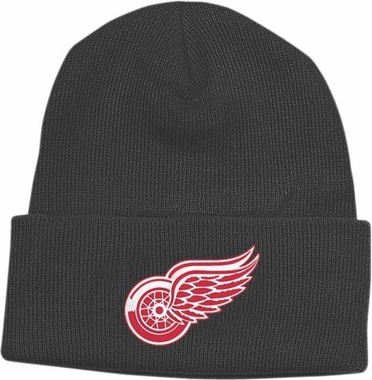 Detroit Red Wings Basic Logo Cuffed Knit Hat