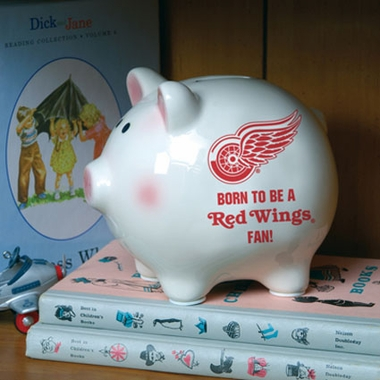 Detroit Red Wings (Born to Be) Piggy Bank