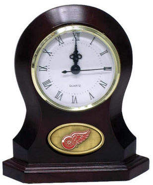 Detroit Red Wings Desk Clock