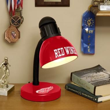 Detroit Red Wings Dorm Lamp