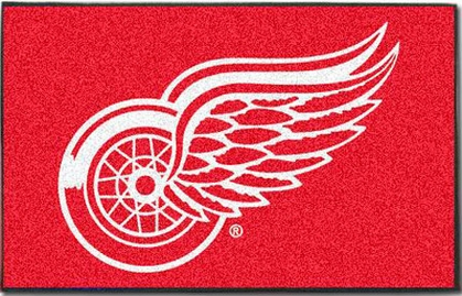 Detroit Red Wings Economy 5 Foot x 8 Foot Mat