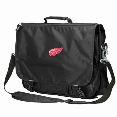 Detroit Red Wings Executive Attache Messenger Bag