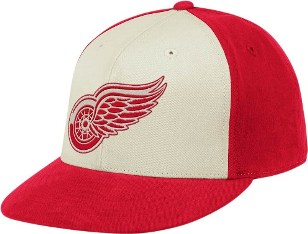 Detroit Red Wings Flat Bill Flex Hat