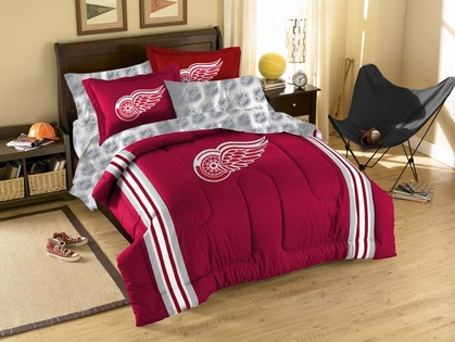 Detroit Red Wings Full Bed in a Bag