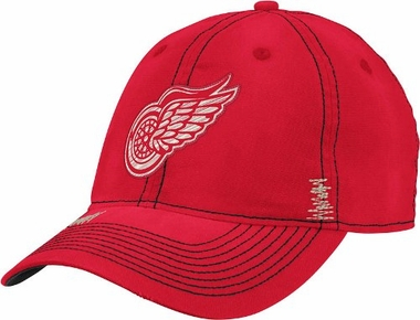 Detroit Red Wings Garment Washed Meshback Flex Slouch Hat