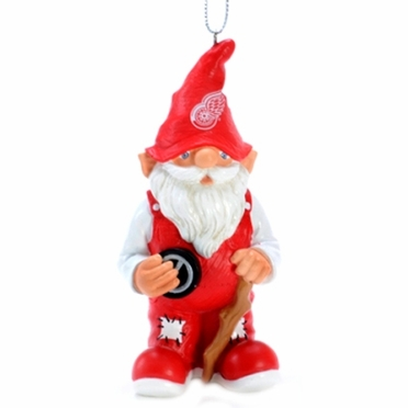 Detroit Red Wings Gnome Christmas Ornament