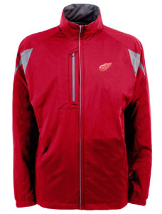 Detroit Red Wings Mens Highland Water Resistant Jacket (Team Color: Red) - Large
