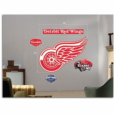 Detroit Red Wings Logo Fathead Wall Graphic