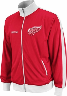 Detroit Red Wings Lord Stanley Full Zip Championship Track Jacket