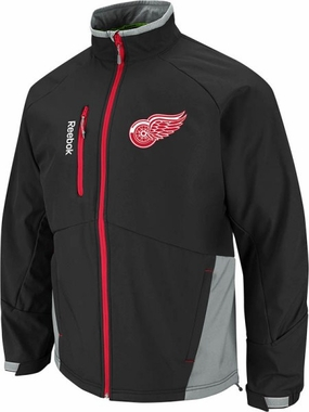 Detroit Red Wings Mentor Softshell Full Zip Premium Jacket