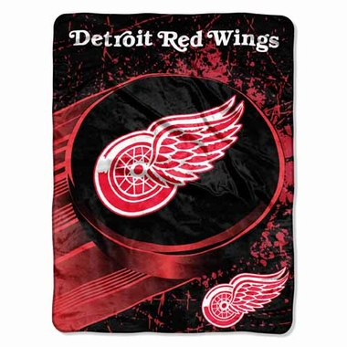 Detroit Red Wings Microfiber Lightweight Blanket