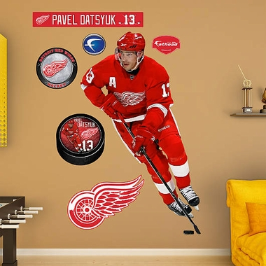 Detroit Red Wings Pavel Datsyuk Fathead Wall Graphic