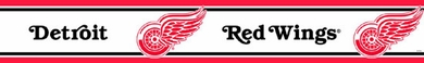 Detroit Red Wings Peel and Stick Wallpaper Border
