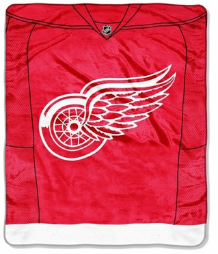 Detroit Red Wings Plush Blanket