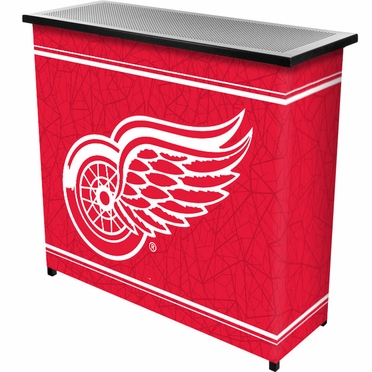 Detroit Red Wings Portable Bar