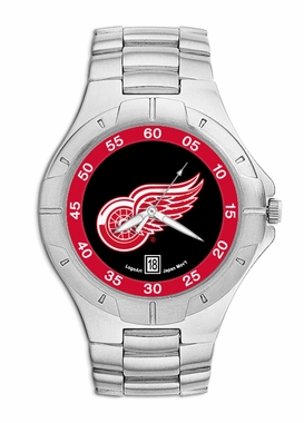 Detroit Red Wings Pro II Men's Stainless Steel Watch