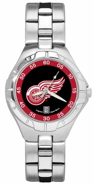 Detroit Red Wings Pro II Women's Stainless Steel Watch