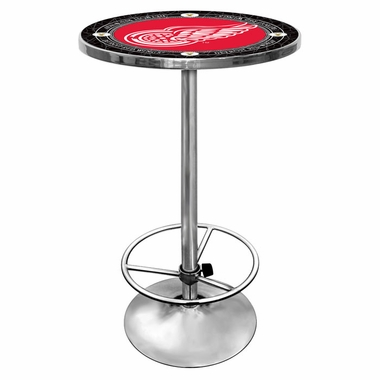 Detroit Red Wings Pub Table (Vintage)