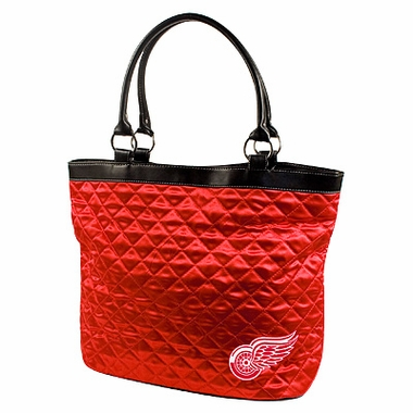 Detroit Red Wings Quilted Tote