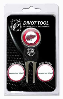 Detroit Red Wings Repair Tool and Ball Marker Gift Set