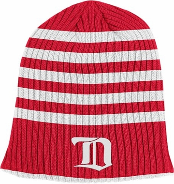 Detroit Red Wings Retro Reversible Cuffless Knit Hat