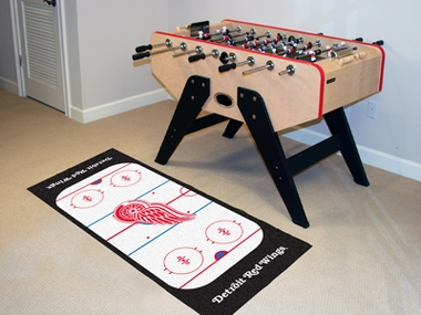 Detroit Red Wings Rink Runner Rug