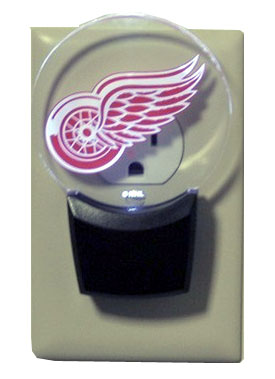 Detroit Red Wings Set of 2 Nightlights
