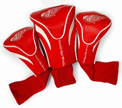 Detroit Red Wings Set of Three Contour Headcovers