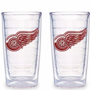 Detroit Red Wings Set of TWO 16 oz. Tervis Tumblers