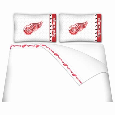 Detroit Red Wings Sheet Set