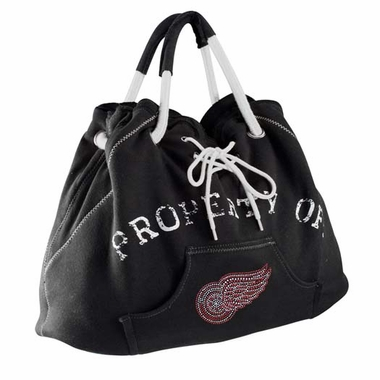Detroit Red Wings Sport Noir Hoodie Tote