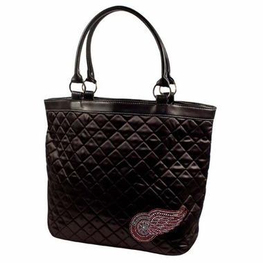 Detroit Red Wings Sport Noir Quilted Tote