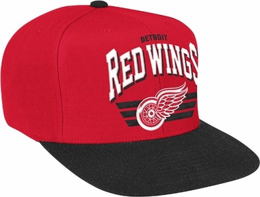 Detroit Red Wings Stadium Throwback Snapback Hat
