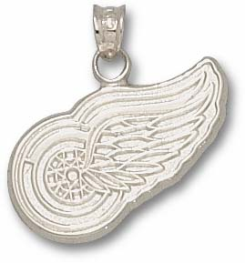 Detroit Red Wings Sterling Silver Pendant