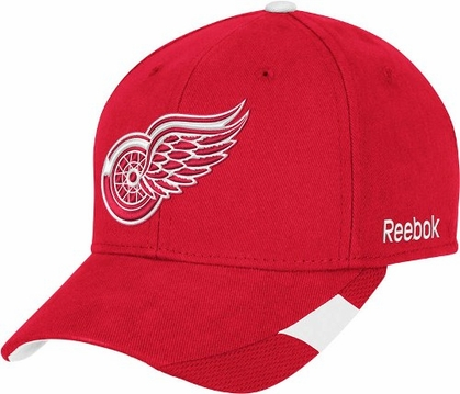 Detroit Red Wings Structured Adjustable Third Jersey Logo Hat