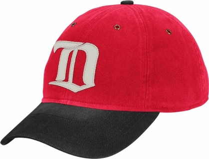 Detroit Red Wings Throwback Vintage Adjustable Hat