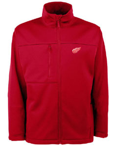 Detroit Red Wings Mens Traverse Jacket (Team Color: Red) - Small