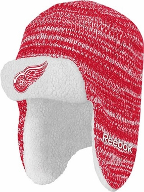 Detroit Red Wings Trooper Knit Hat