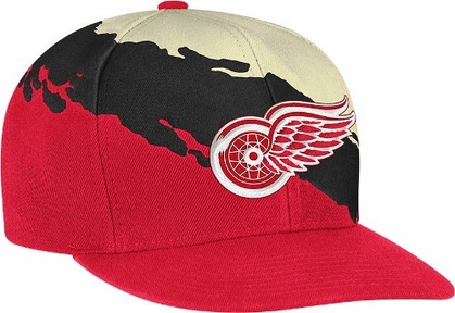Detroit Red Wings Vintage Paintbrush Snap Back Hat
