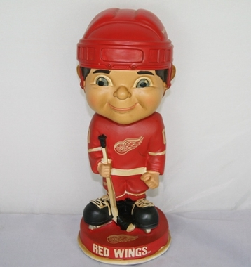 Detroit Red Wings Vintage Retro Bobble Head