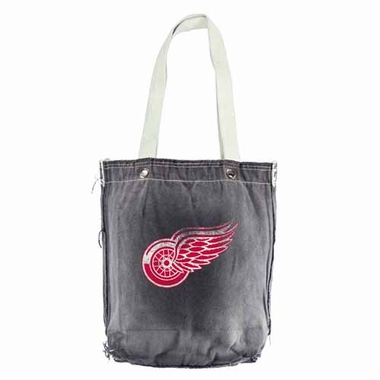 Detroit Red Wings Vintage Shopper (Black)