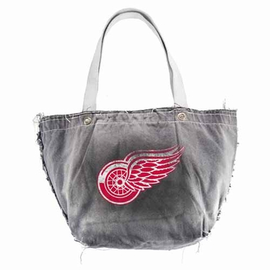 Detroit Red Wings Vintage Tote (Black)