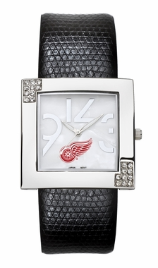 Detroit Red Wings Women's Glamour Watch