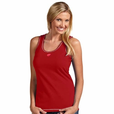 Detroit Red Wings Womens Sport Tank Top (Team Color: Red)