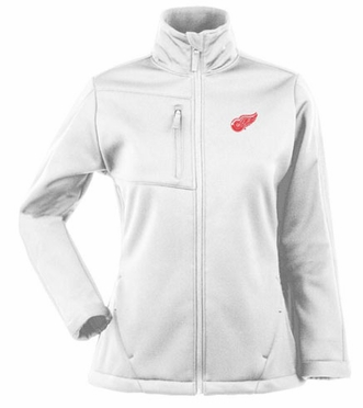 Detroit Red Wings Womens Traverse Jacket (Color: White)