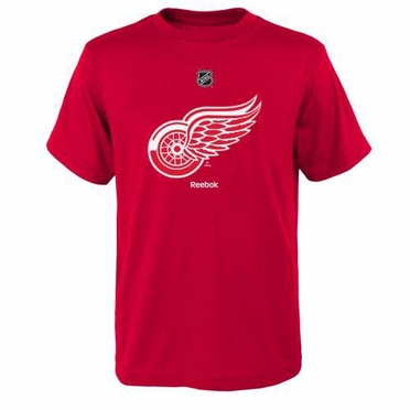 Detroit Red Wings YOUTH Reebok Primary Logo T-shirt
