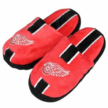 Detroit Red Wings YOUTH Team Stripe Slide Slippers