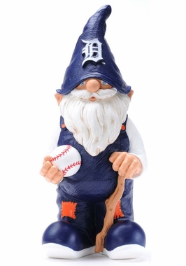 "Detroit Tigers Garden Gnome 11"" Male"