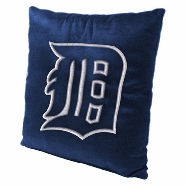 Detroit Tigers 15 Inch Applique Pillow