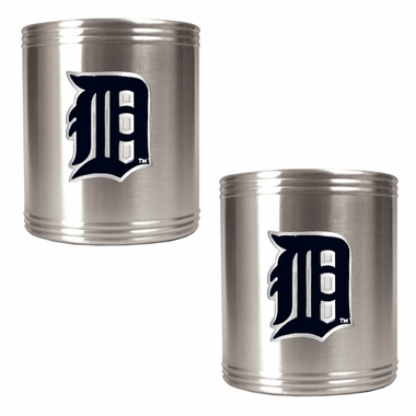 Detroit Tigers 2 Can Holder Set